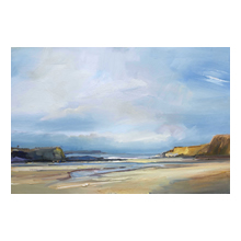 David Atkins - Morning Light, A Cornish Sky, Trevone