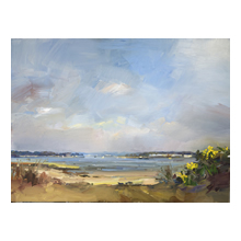 David Atkins - A Morning in Spring, Poole Harbour