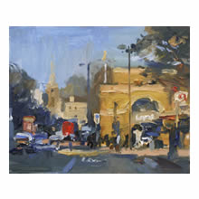 David Atkins, On a Bright Spring Morning Islington
