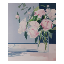 Myles Oxenford - Peonies and Eucalyptus